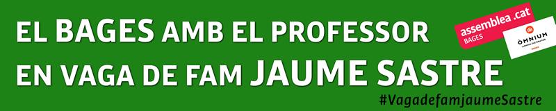 Suport a Jaume Sastre